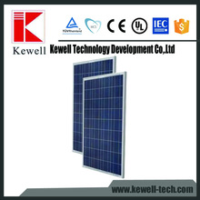 Powerwell polycrystalline silicon solar panel 250w poly solar panel with TUV CE IEC ISO