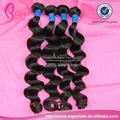 Humano brasileña la cutícula completo de onda floja, sobre sale100% sueltas brasileño remy onda del pelo
