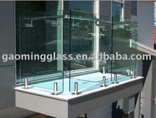 20 years experience/Alibaba trade assurance building tempered glass fence panels GM-4993
