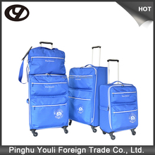 The most comfortable height striped luggage