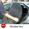 newest car window socks car mesh sunshade car curtain
