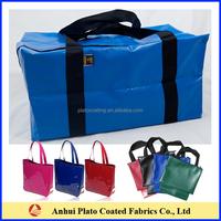 customized waterproof zipper tarpaulin bag on hot sale