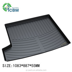Environmental trunk mat for BMW X1 2013