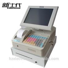 black / white POS cash register