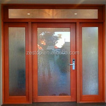 High transmission low-e insulated glass smart glass door