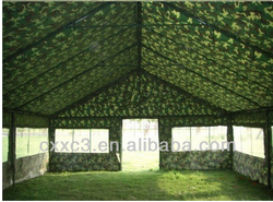 Waterproof Green Camouflage Military Nylon Five Persons+ Tents Refugee Tents