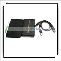"2.5"" Black USB 2.0 IDE 2.5 HD Hard Drive Enclosure Case"