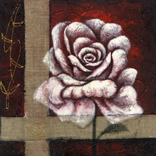 wholesale frameless flower wall art canvas oil painting