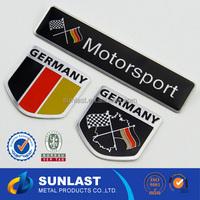 SUNLAST logo printed on metal sports car/bike/motorcycle sticker XOEM1324