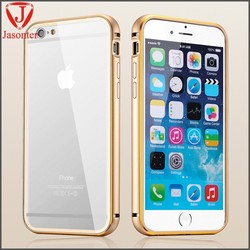 Hot Sale Cell Phone Case Cover mobile accessories for iphone 6 aluminum bumper/ luxury metal phone cover