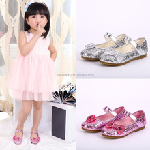 children first choice shining beautiful leather children casual shoes made in China factory