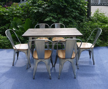 Antique-style Outdoor Dining Table Sets