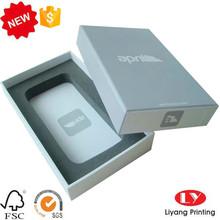 Grey Printing Phone Case Packaging Box