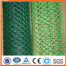2015 hot sale Anping galvanized/pvc bird cages hexagonal wire mesh (ISO 9001 certification)