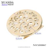 Fashion Circular pattern decorative hardware for bag