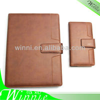 2014 New fashion leather agenda