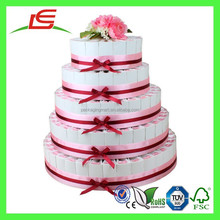 Q1146 Decorate Cheap Wedding Cake Favor Box, Wedding Cake Display Stand Wholesale In China