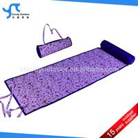 nice pattern roll up mat for beach