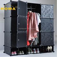 New design plastic pvc princess storage wardrobe