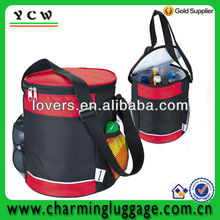 can shaped cooler bag/round cooler ice bag/thermal bag