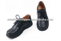 2014 new styles of boys leather school shoes