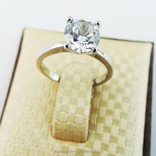 The diamond ring elegant female Czech diamond ring