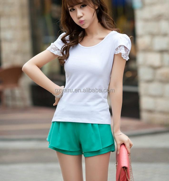Beautiful New 2015 Summer Women Blouse Shirt Chiffon Shirt Girls Blouse Tops