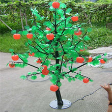 Any color led light Fruit trees for christmas /wedding decorations