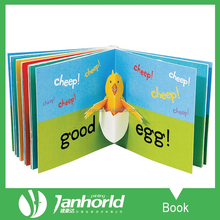 High quality light colors hardcover children books printing