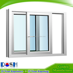 Factory Direct Sale High Qualtiy UPVC Sash Window With Mosquito Screen for Sale