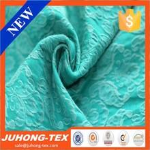 flower design jacquard viscose lycra fabric China Manufacturer