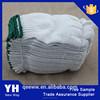 Custom White cotton Polyester labour cotton work gloves