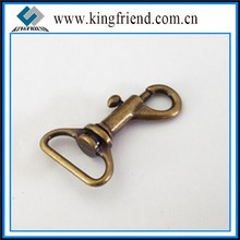 Antique Brass Rotatable Snap Hook