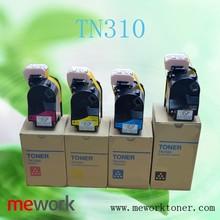 2015 laser toner cartridge TN310 for konica minolta bizhub c350 imaging unit toner refill powder
