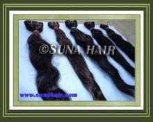 Natural raw stricking tangle free beautiful human hair extension