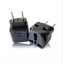 2013 top sale universal to Europe plug adapter made in China