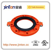 FM UL Approved Grooved Pipe Fittings Grooved Flange XGQT09