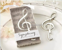 "Wedding Favors ""Symphony"" Music Note Shape Bottle Opener party gift"