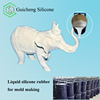 RTV-2 molding silicon rubber for concrete product making,plaster statue molds