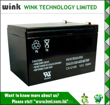 China manufacturer 12v 10ah Backup Power Battery