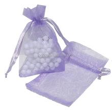 Light Purple Organza Jewelry Pouch