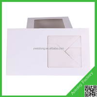 New arrival white color cheap cake boxes