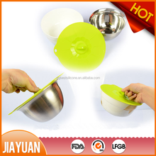 Custom Food grade silicone suction lids for bowl