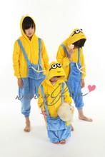 wholesale children Onesie Unisex christmas pajamas cartoon pajamas minion onesie