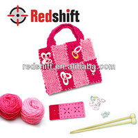 Arts & crafts kit design your knitting bag