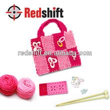 Arts & crafts kit design your knitting bag
