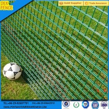 decorative metal double circle fence galvanized steel landscape panels