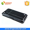 Multi function 3500mah ABS PU outershell portable iphone 6s solar charger case