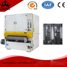 low price wide double belt particleboard sanding machine/plywood Sander machine/belt Sander