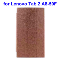 New Products 2015 Innovative Product 3 Folding PU Leather Tablet Case for Lenovo Tab 2 A8-50F